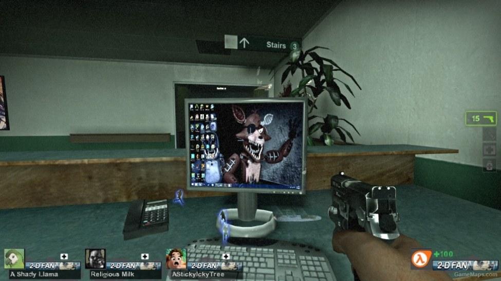 rng) realistic fnaf pc backrounds (Left 4 Dead 2) - GameMaps