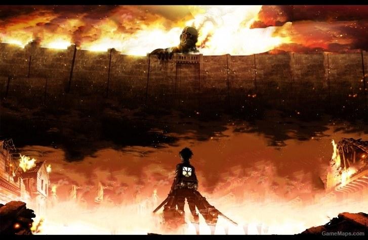 Attack On Titan Opening 1 Shingeki No Kyojin Background Left 4 Dead 2 Gamemaps