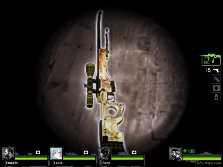 AWP | Dragon Lore CS:GO (Left 4 Dead 2) - GameMaps