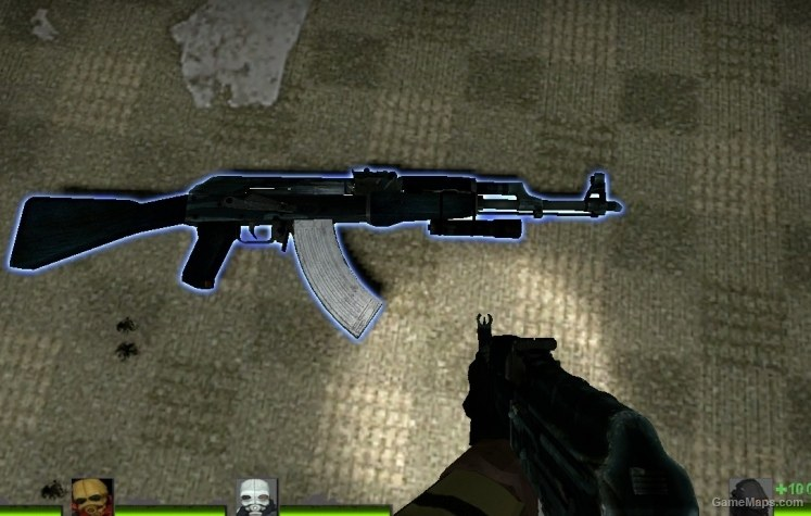 blue camo ak47 (Left 4 Dead 2) - GameMaps