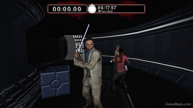 Blue LightSaber (GOLF CLUB) (Left 4 Dead 2) - GameMaps