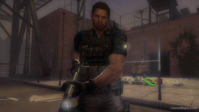 Chris Redfield (RE6) (Left 4 Dead 2) - GameMaps