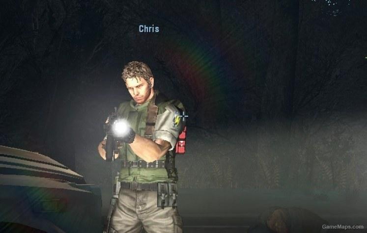 Chris Redfield mod, Name & HUD Icons (Left 4 Dead 2) - GameMaps