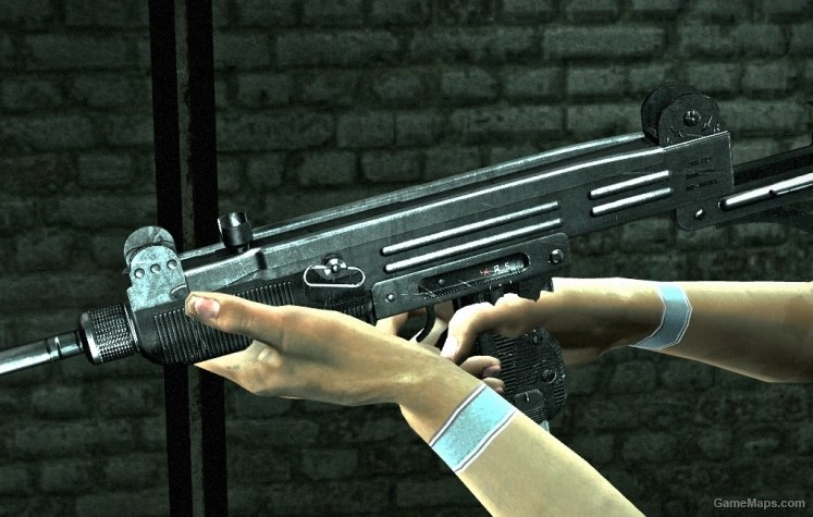 Detailed UZI (Left 4 Dead 2) - GameMaps