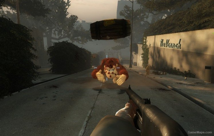 Donkey Kong (Tank) (Left 4 Dead 2) - GameMaps