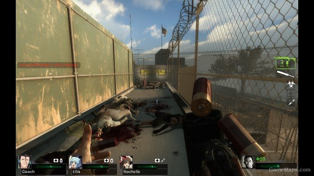 Double Barrel Shotgun Left 4 Dead 2 Gamemaps