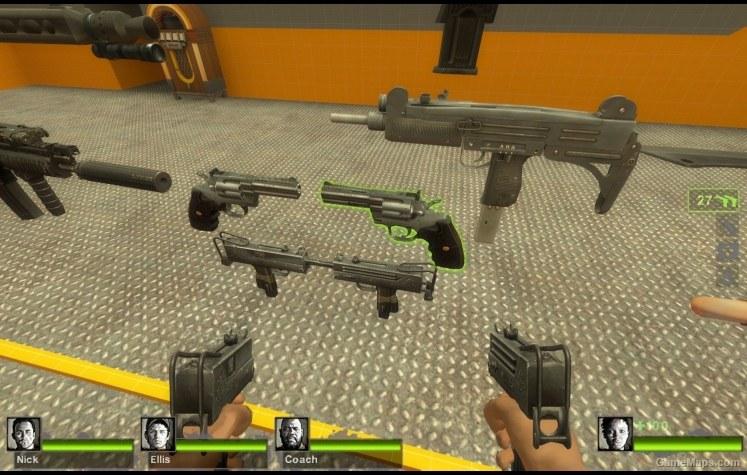 Dual Uzi Compile Example (Left 4 Dead 2) - GameMaps