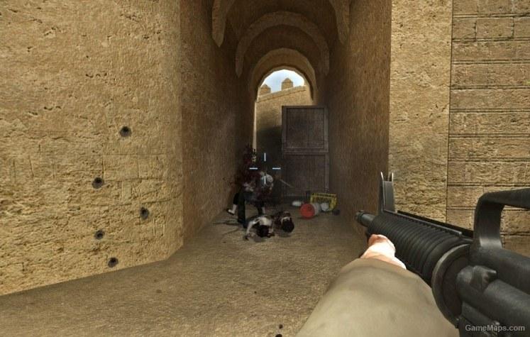 Dust 2 (Left 4 Dead 2) - GameMaps