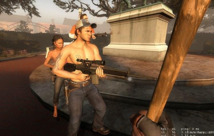 Ellis Shirtless Left 4 Dead 2 Gamemaps