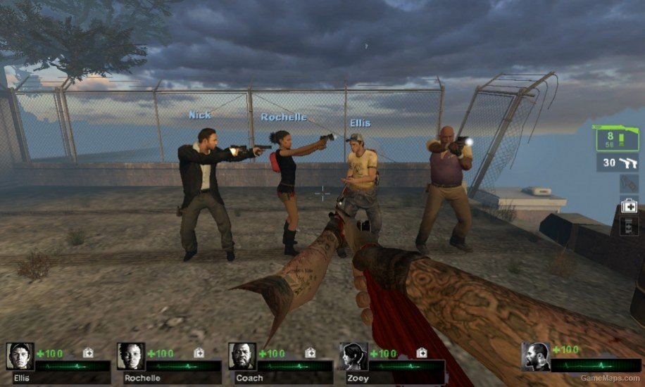 Enable L4D2 Survivors female boomers and melee weapons (Left 4 Dead