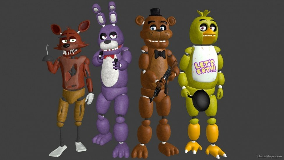 Five Nights at Freddy's Friends (Left 4 Dead 2) - GameMaps