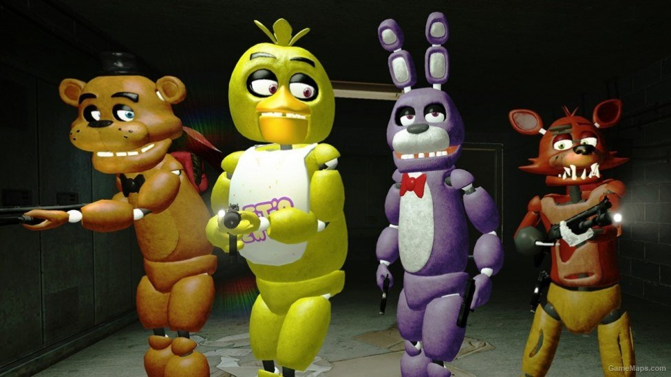 Five Nights at Freddy's Friends (Left 4 Dead 2) - GameMaps