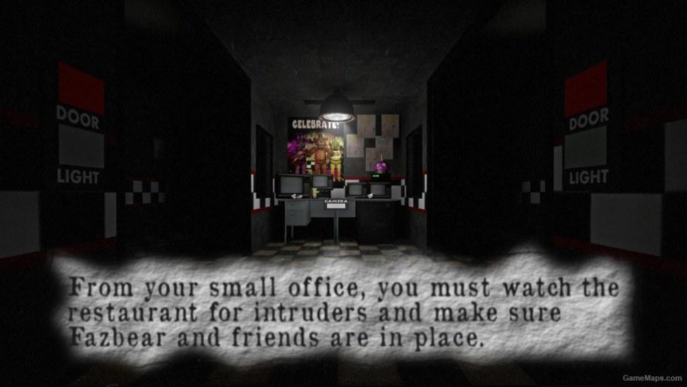 Freddy Fazbear S Pizzeria Left 4 Dead 2 Gamemaps