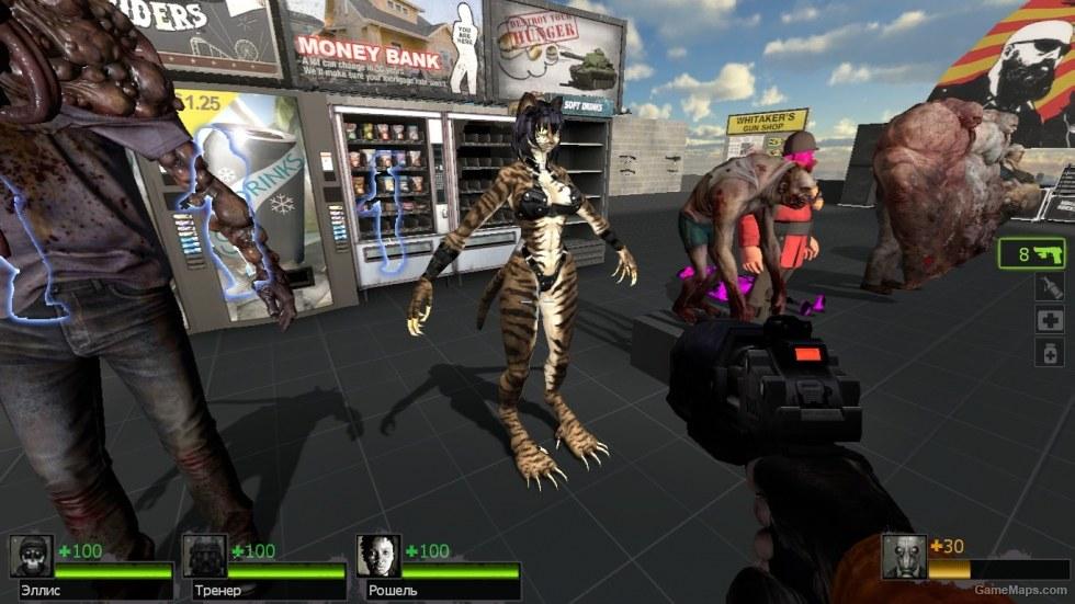 Furry Cat Hunter Left 4 Dead 2 Gamemaps
