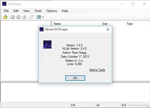 GCFScape v1 8 5 Edit files VPK (Left 4 Dead 2) - GameMaps