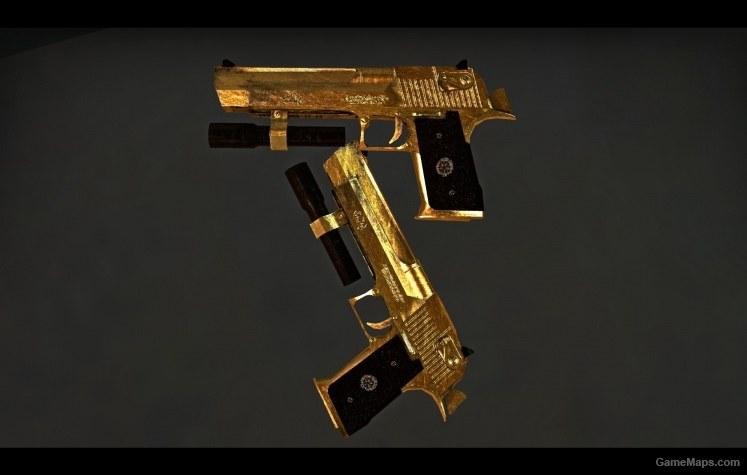 Gold Hellsing Deserteagle V2 Left 4 Dead 2