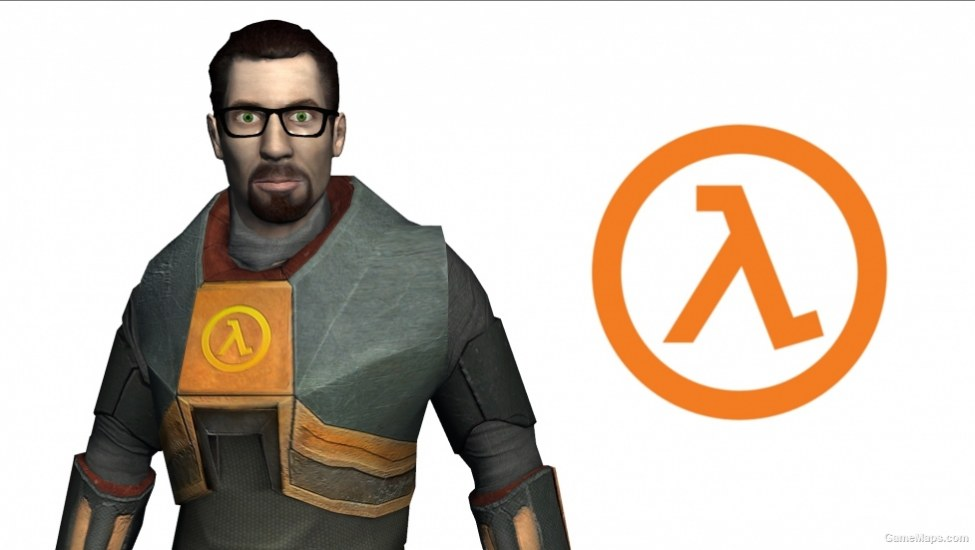 Gordon Freeman Half Life Nick Left 4 Dead 2 Gamemaps