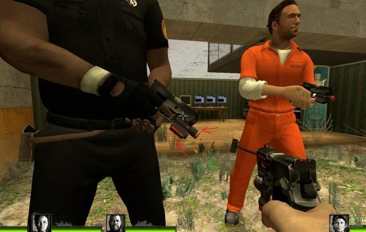 High Viz Iron Sight - Pistol (Left 4 Dead 2) - GameMaps