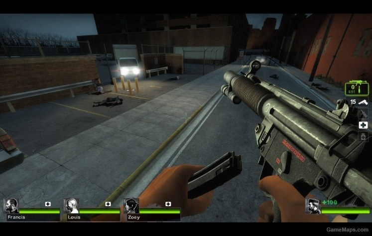 HK MP5SD Gun fire Sound Mod (Left 4 Dead 2) - GameMaps