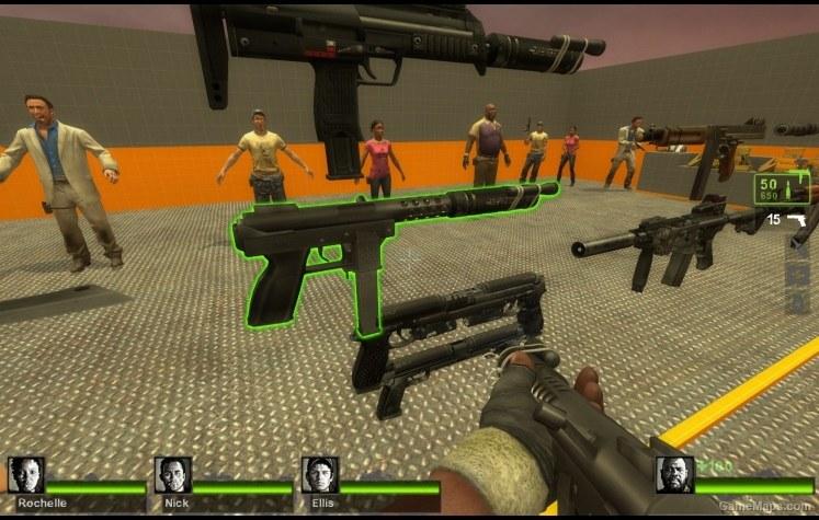 Intratec TEC-DC9 (SMG) (Left 4 Dead 2) - GameMaps