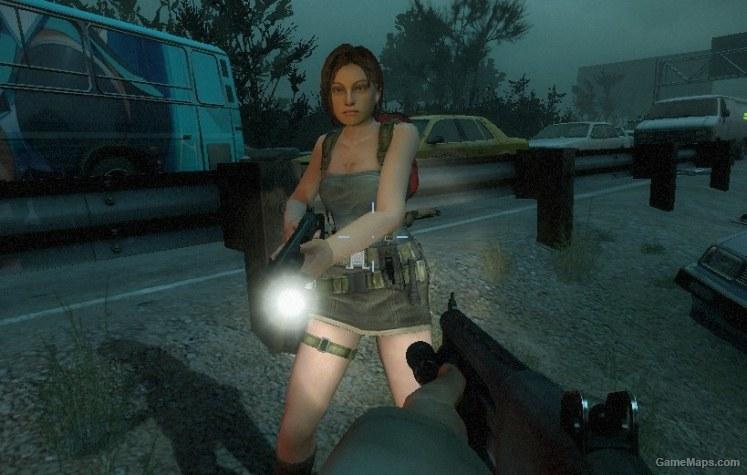Jill Valentine (Rochelle) (Left 4 Dead 2) - GameMaps