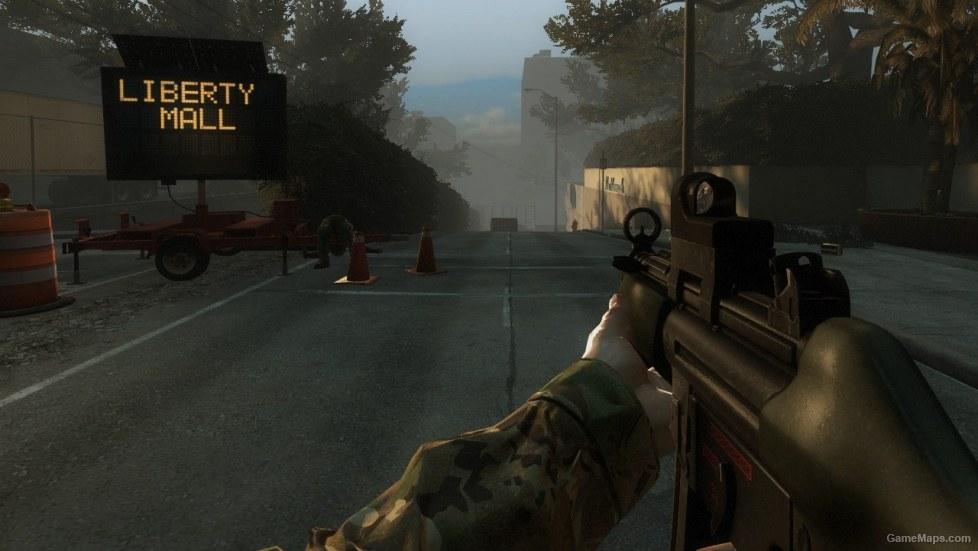 Killing Floor MP5M Medic Gun