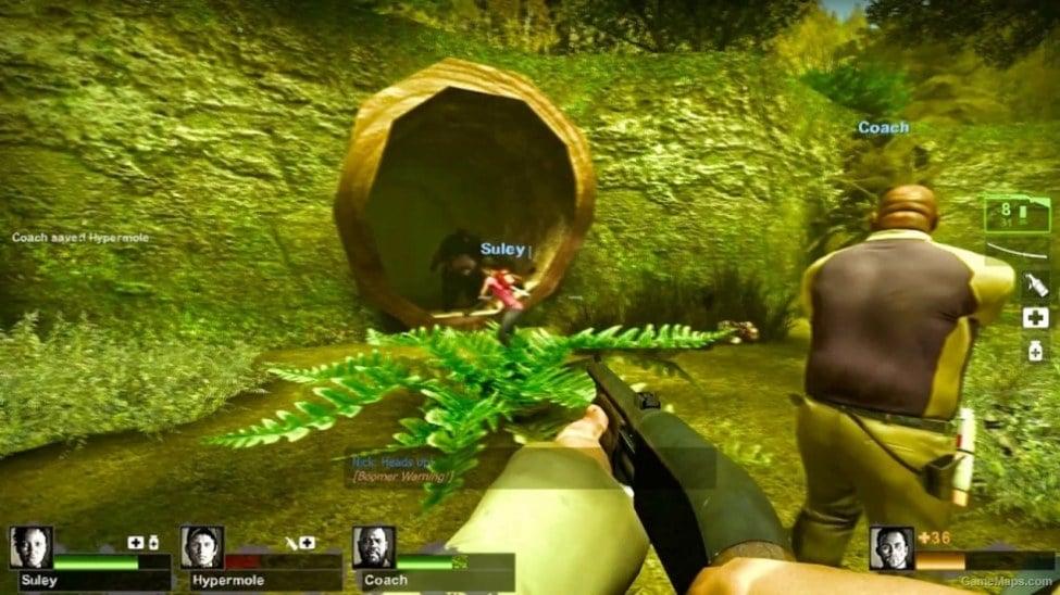 kokiri forest fixed left 4 dead 2 gamemaps