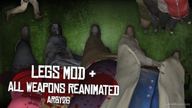Legs Mod (Left 4 Dead 2) - GameMaps
