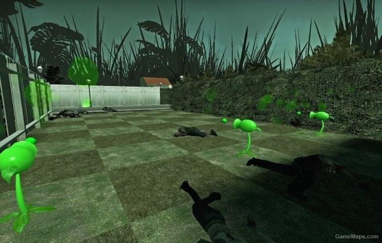 L4D2 Plants vs Zombies (Left 4 Dead 2) - GameMaps on gmod zombies vs humans, gmod sniper, gmod godzilla survival, gmod dino survival, gmod nazi zombies,