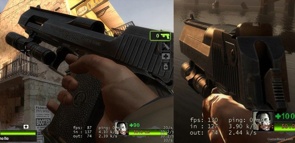 L4D2 Powerful Desert Eagle Sound (Left 4 Dead 2) - GameMaps