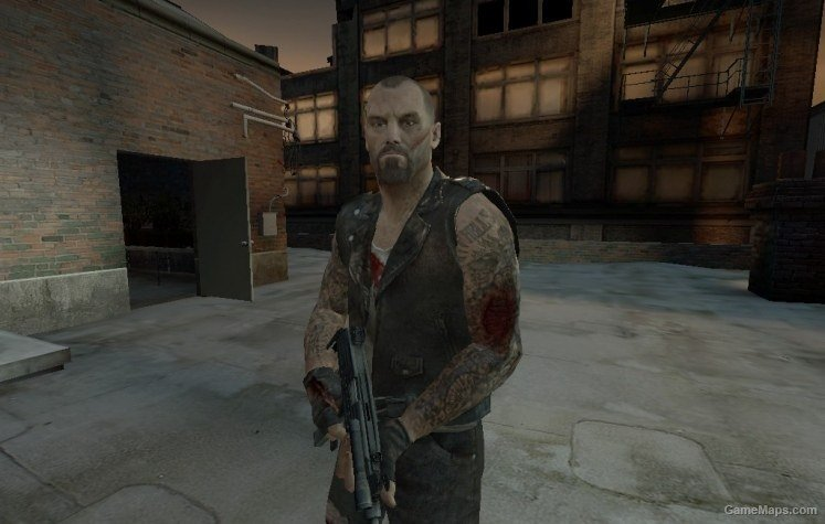 L4D Hurt Skins - Francis (Left 4 Dead 2) - GameMaps