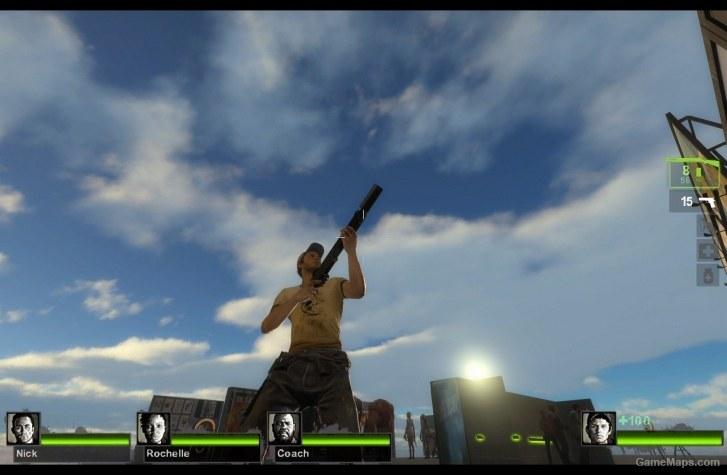 Legendary Shotgun Sawed-off (Chrome Shotgun) (Left 4 Dead 2