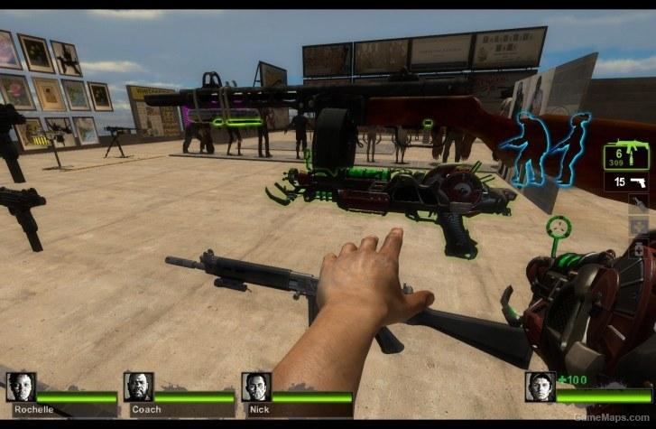Mark 2 Ray Gun (SCAR) (Left 4 Dead 2) - GameMaps