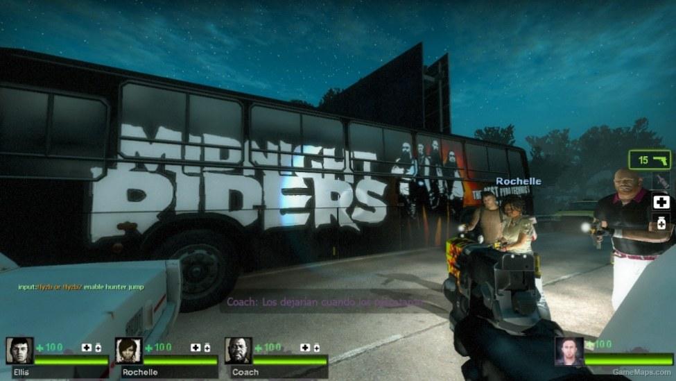 Midnight Rider Tour Bus Left 4 Dead 2 Gamemaps