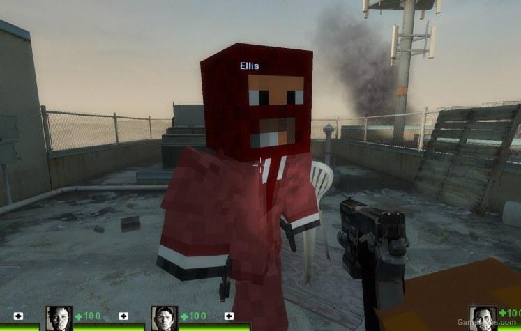 Minecraft Characters (Left 4 Dead 2) - GameMaps