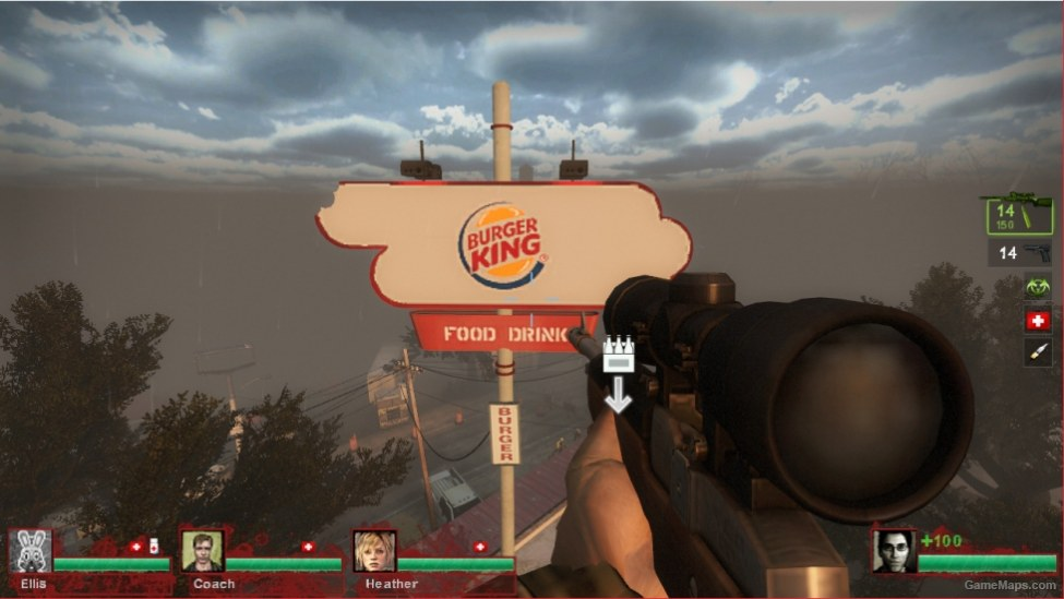 Mods Cocacola and burger king new textures (Left 4 Dead 2