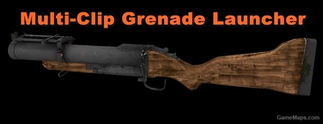 Multi-Clip Grenade Launcher (Left 4 Dead 2) - GameMaps
