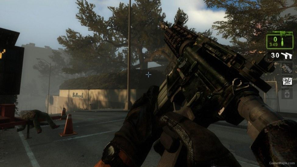Mw3 m4a1 iron sight v2 1 (Left 4 Dead 2) - GameMaps