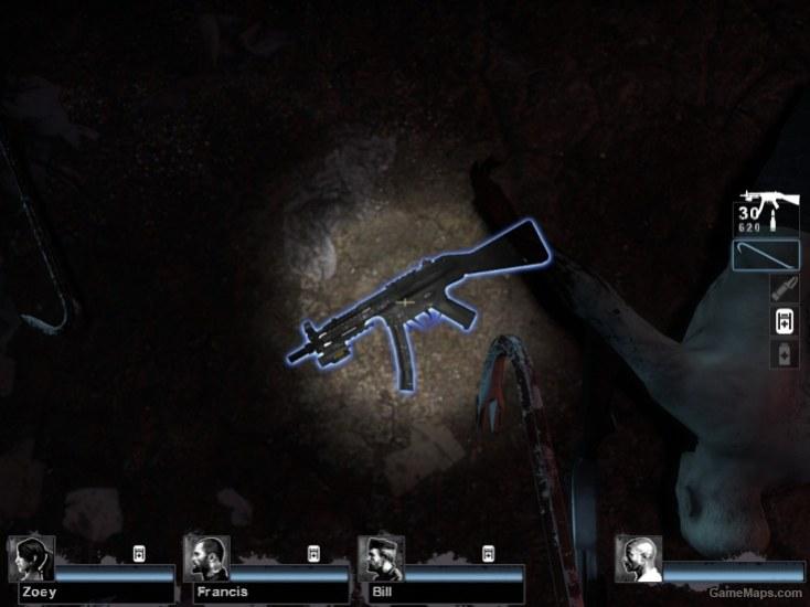 MW3 MP5 (for Uzi, MAC, and MP5) (Left 4 Dead 2) - GameMaps