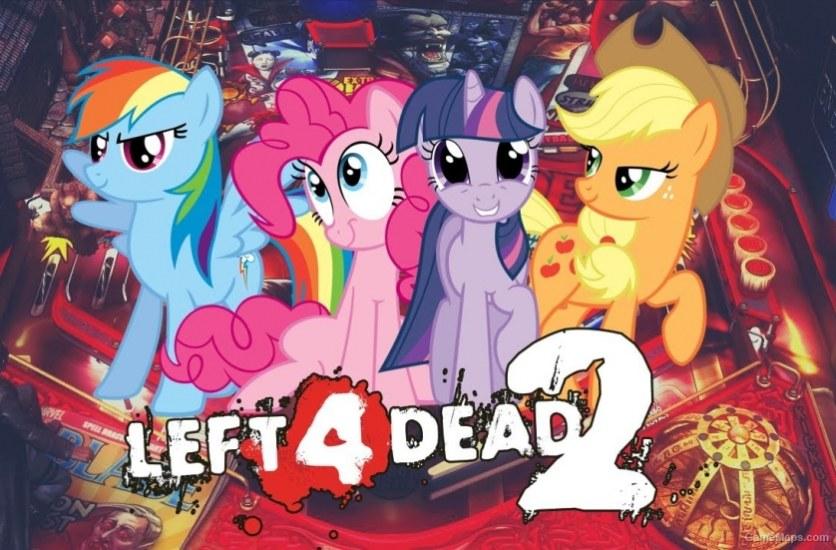 My Little Pony Survivor Voices Left 4 Dead 2 Gamemaps