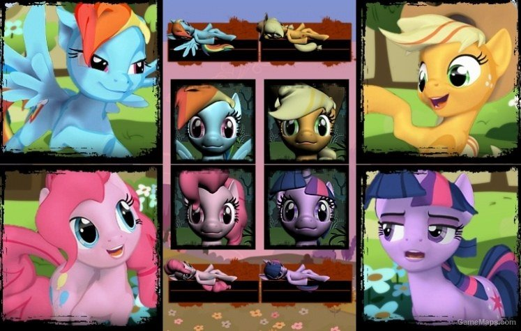 My Little Pony Survivors Left 4 Dead 2 Gamemaps