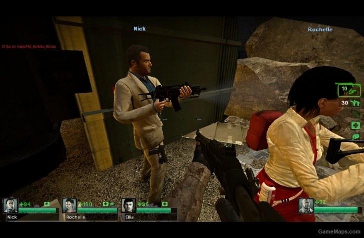 Nick Styled Michael De Santa Left 4 Dead 2 Gamemaps