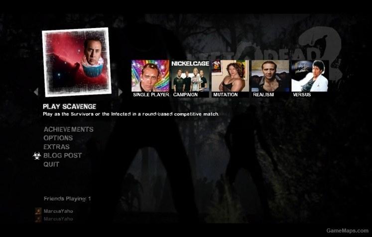 Nicolas Cage Menu Icons (Left 4 Dead 2) - GameMaps