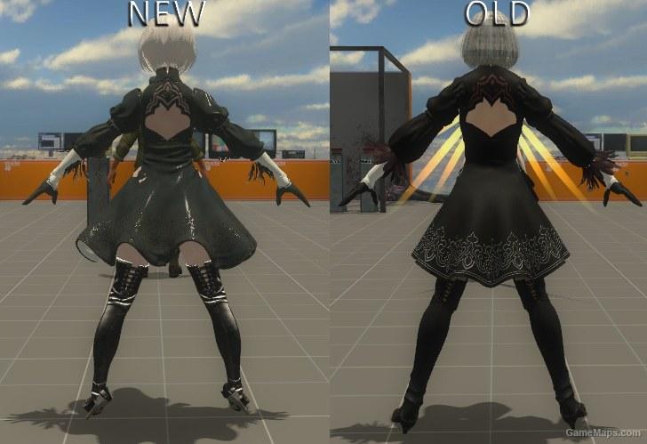 NieR:Automata 2B v2 0{Rochelle} (Left 4 Dead 2) - GameMaps