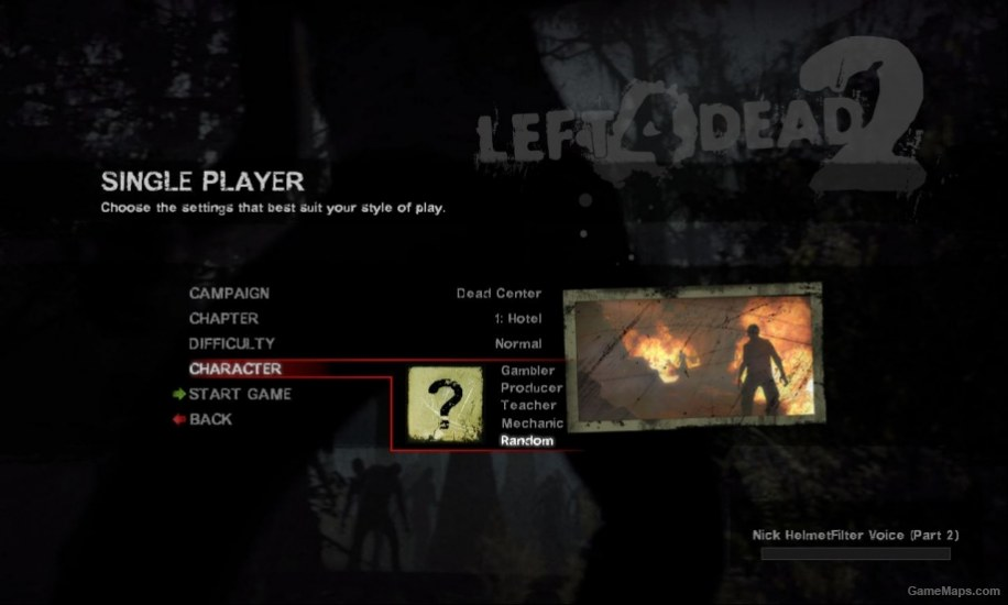 Occupation L4D2 name change (Left 4 Dead 2) - GameMaps