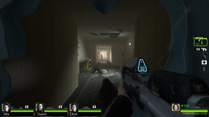 Officer Cortana Halo 4 L4d2 Left 4 Dead 2 Gamemaps