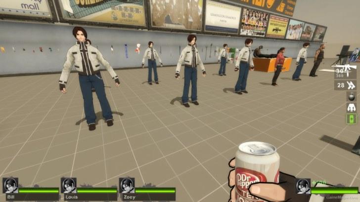 Alyx Vance Replace Zoey (Left 4 Dead 2) - GameMaps