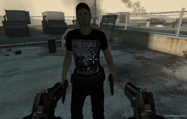 Powerman 5000 Ellis shirt skins (Left 4 Dead 2) - GameMaps