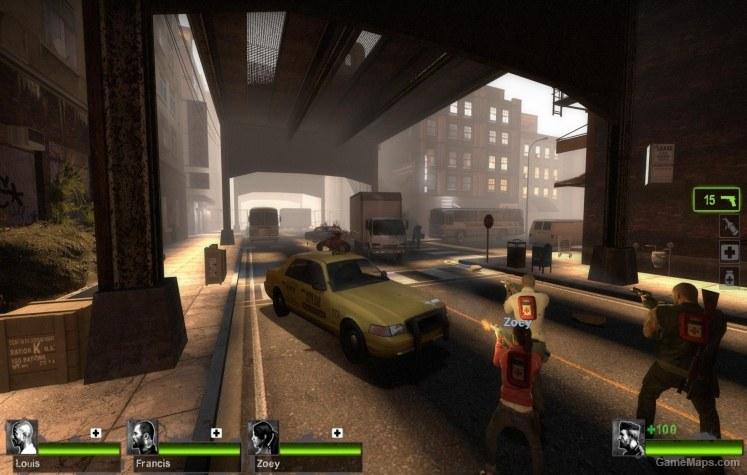 Precinct 84 (L4D2) (Left 4 Dead 2) - GameMaps