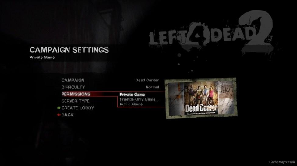 Private Game Enabler (Invite Only) - L4D2 (Left 4 Dead 2) - GameMaps